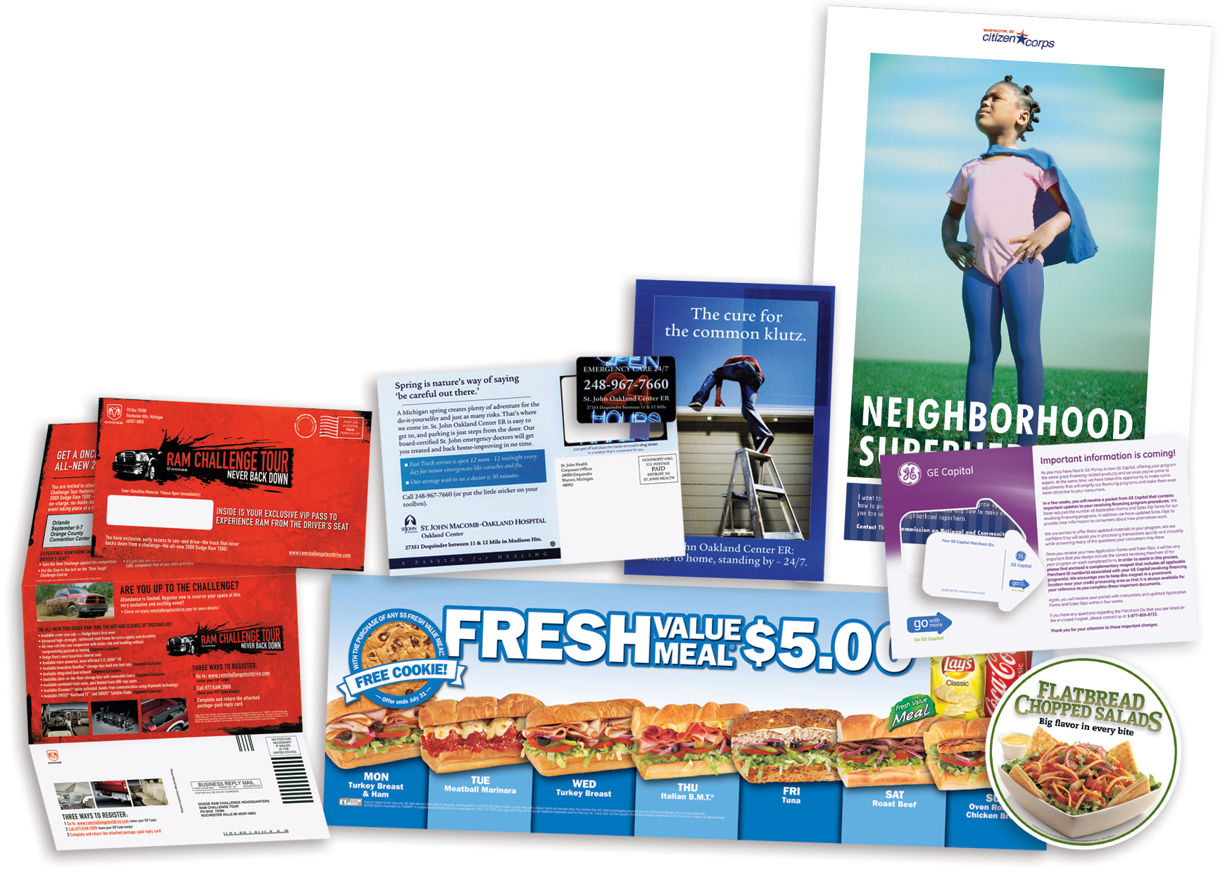 Promotional materials for business arts arts for Custom marketing materials
