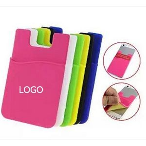 Smart Silicone Cell Phone Wallet Pocket